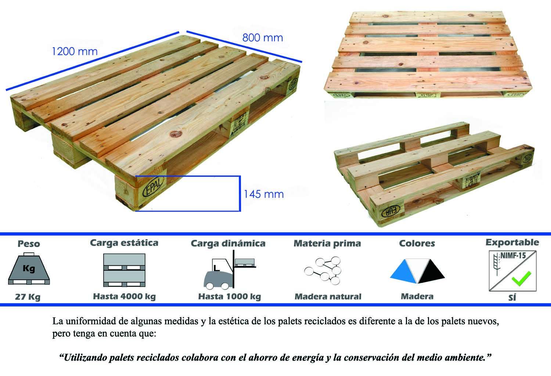 palets de madera nimf15 y palets de plstico el europalet epal - Europalets