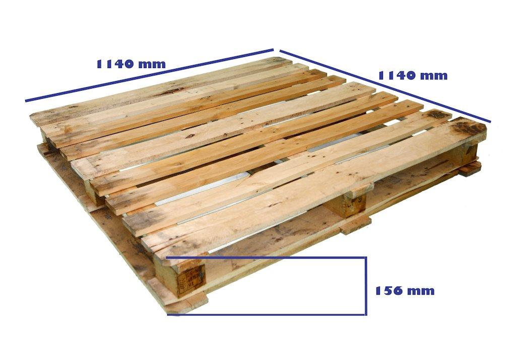 Palets cp industria qu mica palet cp9 1140 x 1140 reciclado - Madera de palet ...